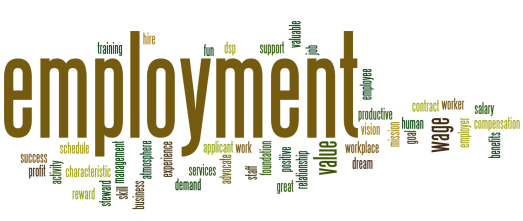 employment+word+cloud