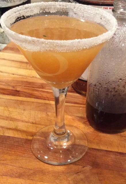 cocktail sugar martini