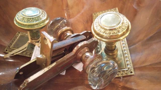 doorknobs - vintage